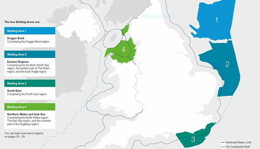 Round 4 opens up the potential for 7 GW of new offshore wind projects