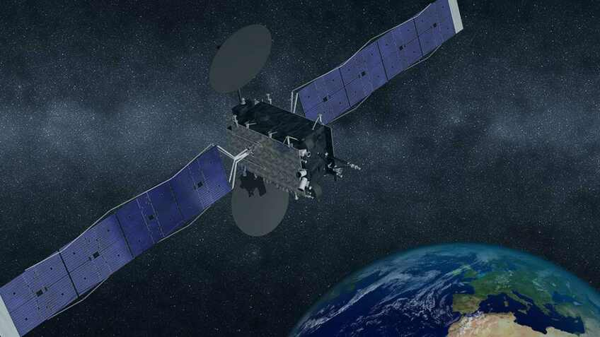Launched satellite enhances European maritime navigation