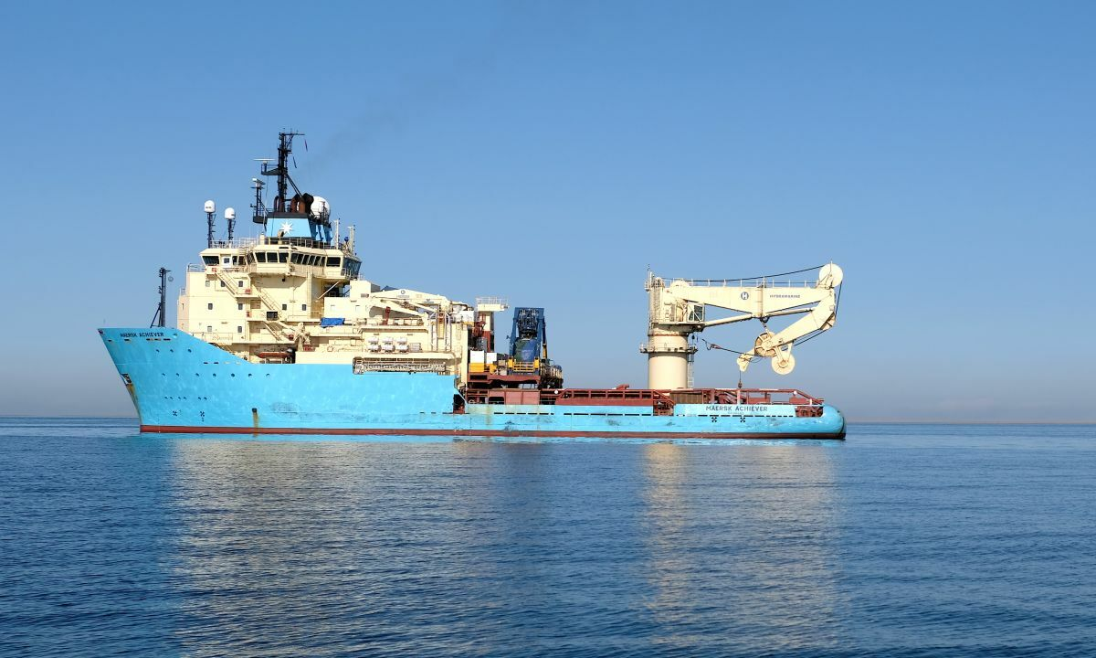 Maersk Achiever will mobilise to Brazil following completion of a mooring lines project