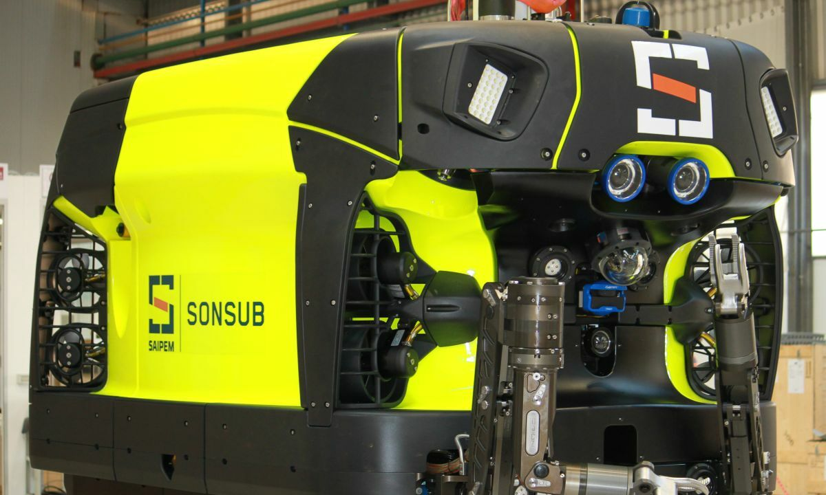 A subsea resident, Hydrone R will be capable of performing light construction and inspection work