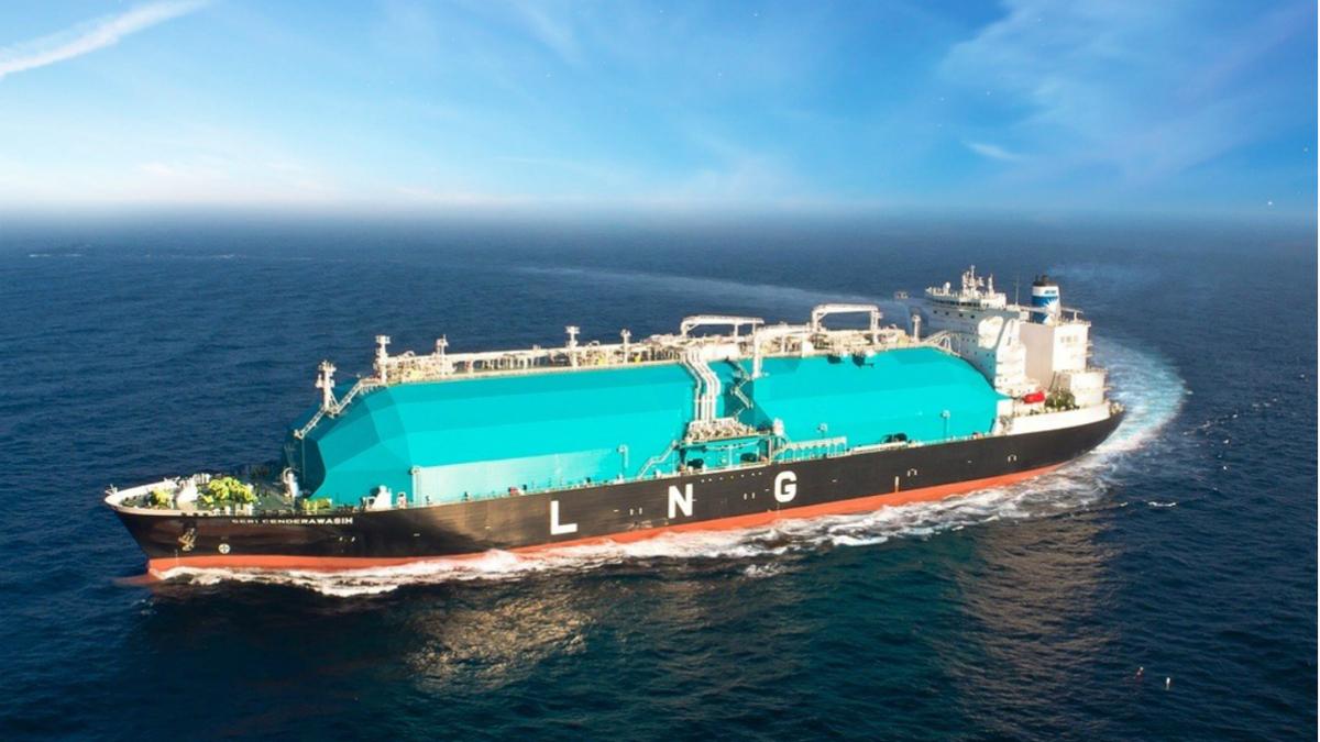 Seri Cenderwasih is one of 29 LNG carriers in MISC's fleet