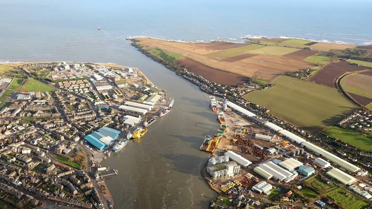 Best known as an oil and gas port, Montrose Port is expanding into offfshore wind