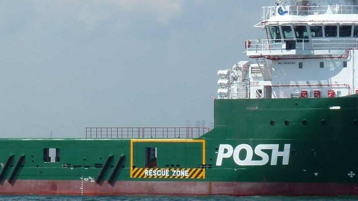 POSH operates OSVs in Asia and now tugs in Singapore after the Pacific Workboats purchase