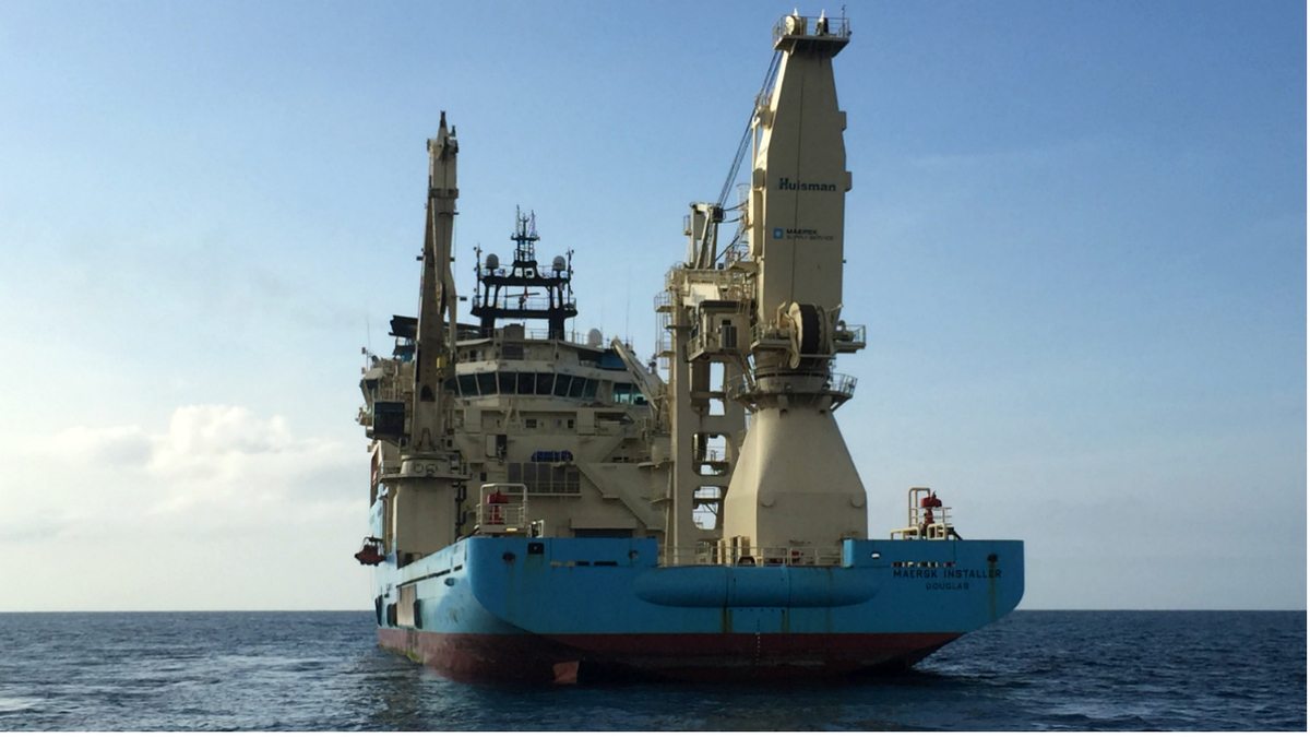 Maersk Supply Service's two I-class subsea support vessels have been contracted by Blue Marine Group