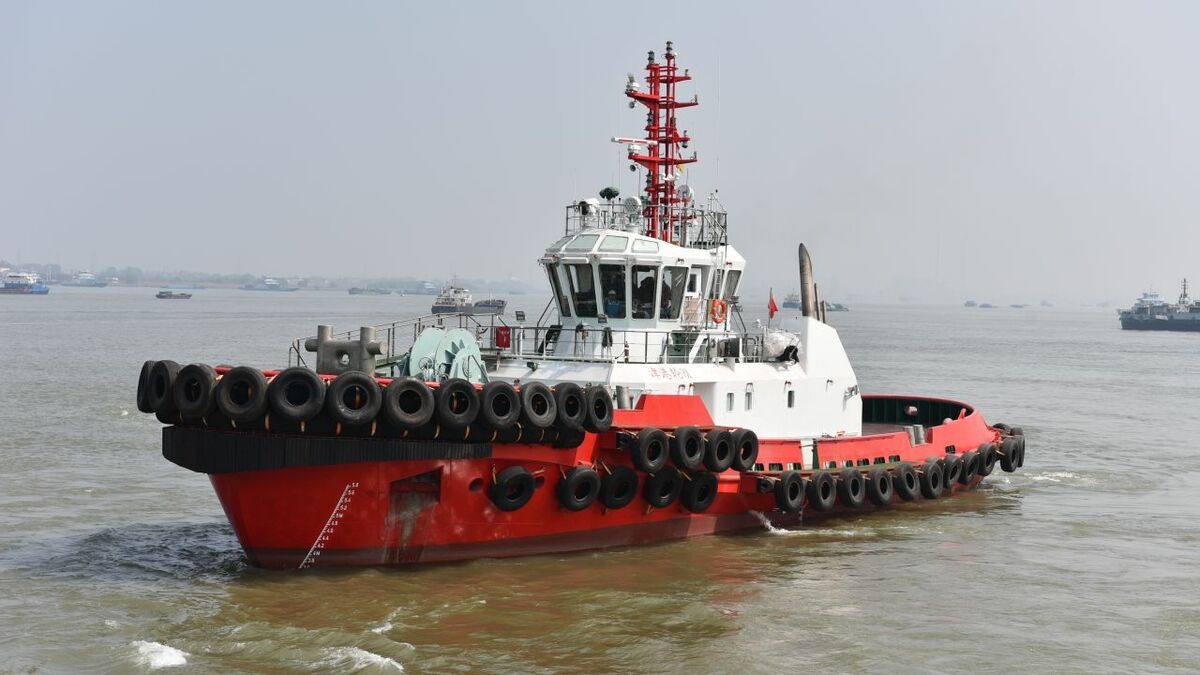 Robert Allan-designed Jin Gang Lun 31 is the first Chinese i-tug