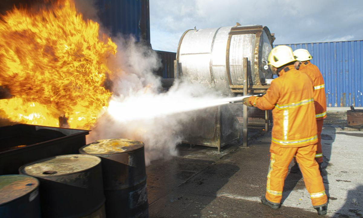 Teaching seafarers to tackle an LNG-fuelled fire will be key to safety in coming years