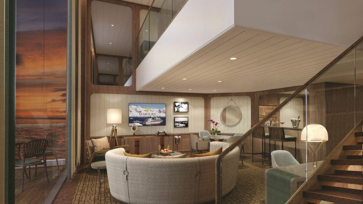 The Wintergarden Suites boast a two-storey dwelling that will be the ultimate in luxury suite living