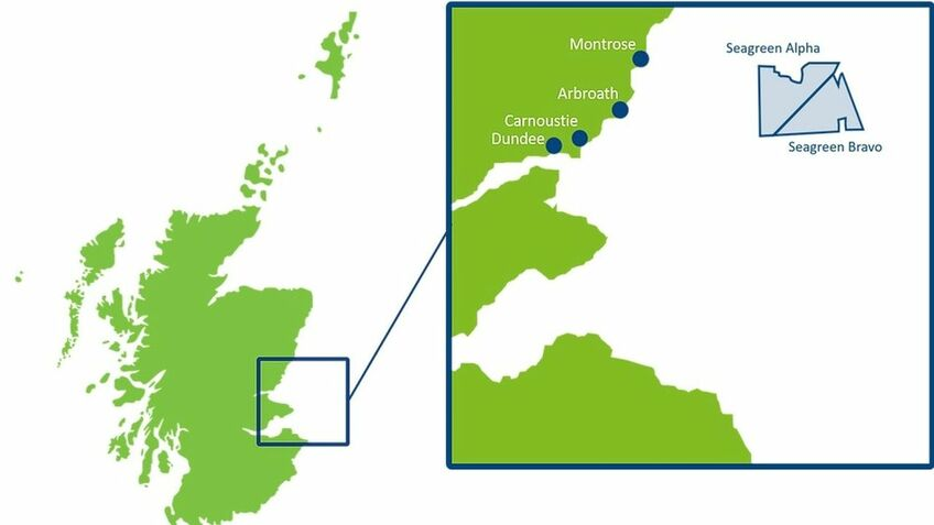 Seagreen will be Scotland's largtes offshorew windfarm when built