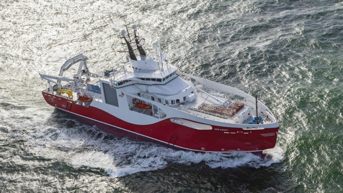 Subsea 7 operates a range of vessels in the offshore wind sector