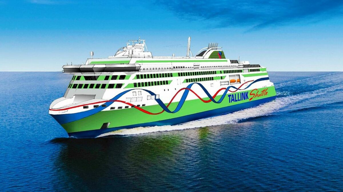 The Tallink shuttle ferry is the biggest vessel yet to be built by RMC