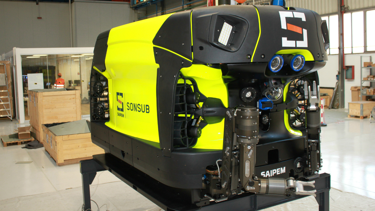 As a subsea resident drone, Hydrone-R can remain underwater for 12 months