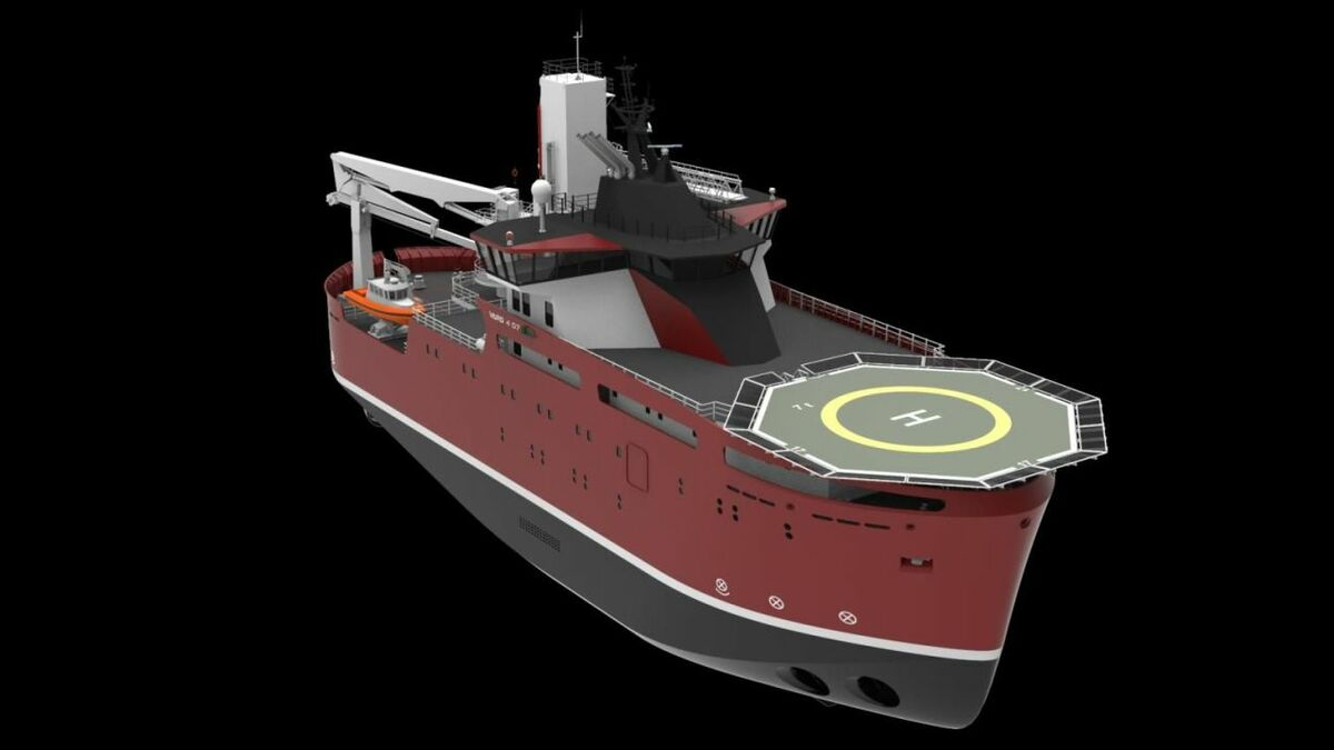 Vard's latest SOV design can accommodate up to 90 windfarm technicians