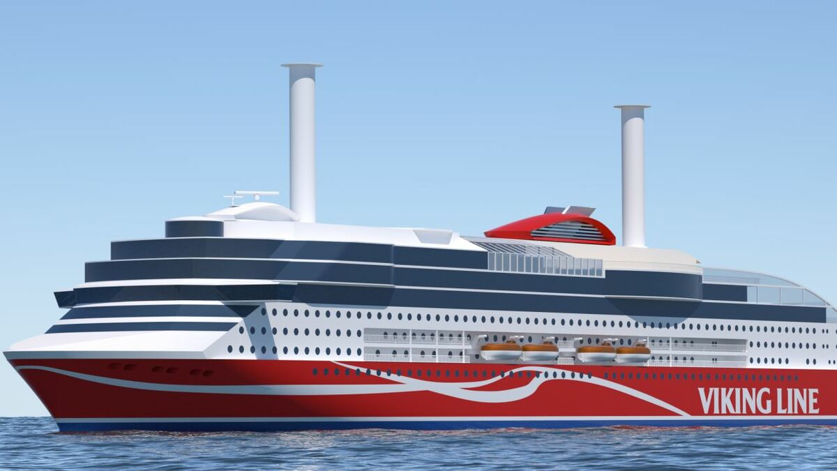 Viking Line's new LNG-fuelled newbuild is being built by Xiamen Shipbuilding