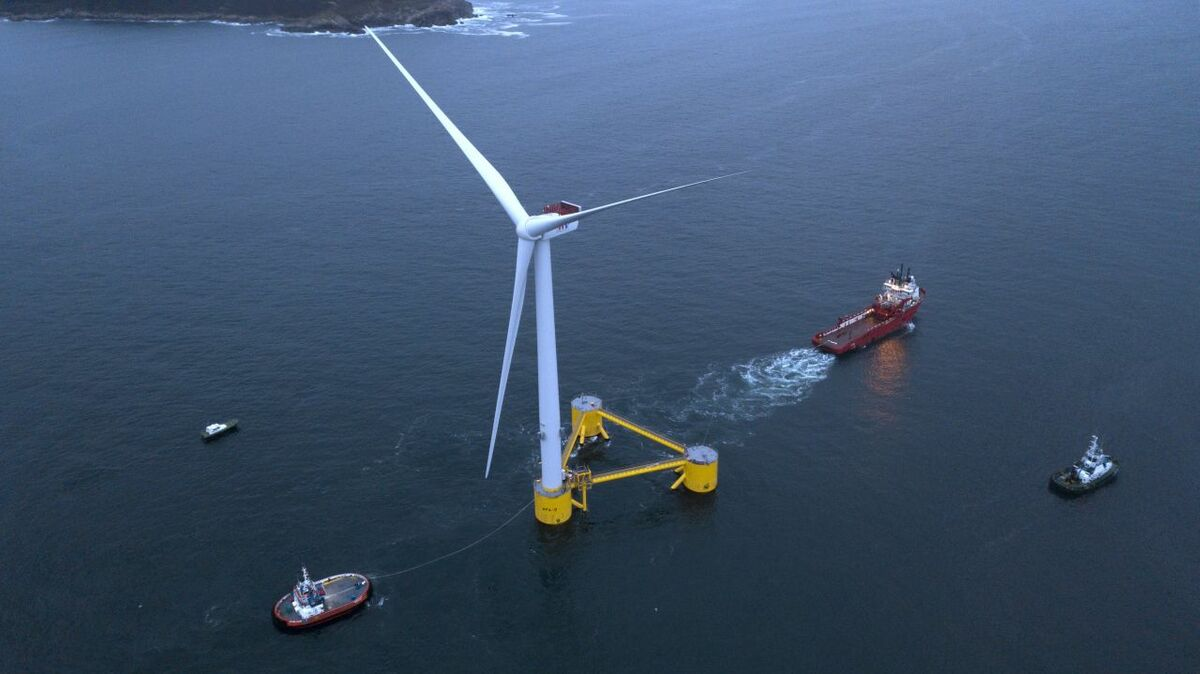 UPDATED: Continental Europe takes key step with first floating windfarm