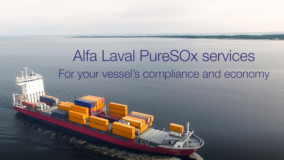 Alfa Laval PureSOx services: for your vessel's compliance and economy