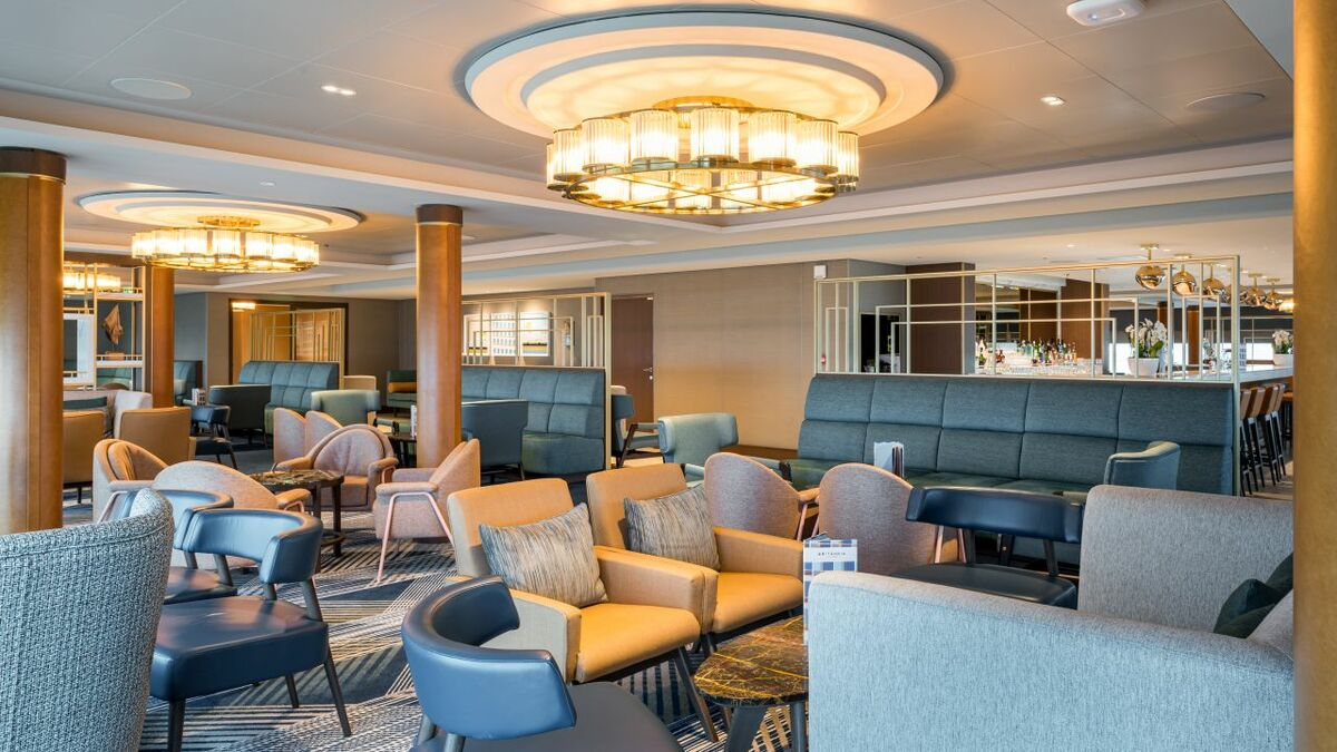 Furniture, lighting and artwork were used to provided distinction and character to the hotel spaces