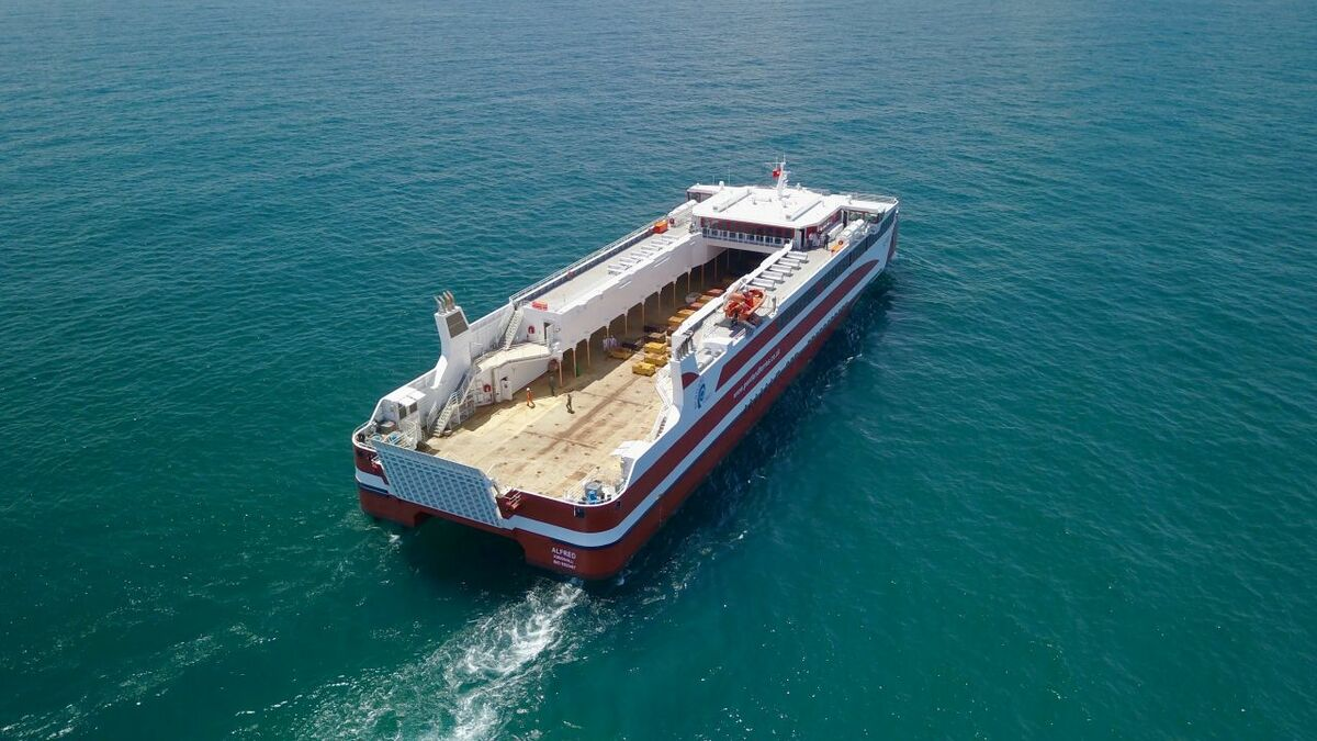 Pentland Ferries 'significantly expands' capacity with new ropax