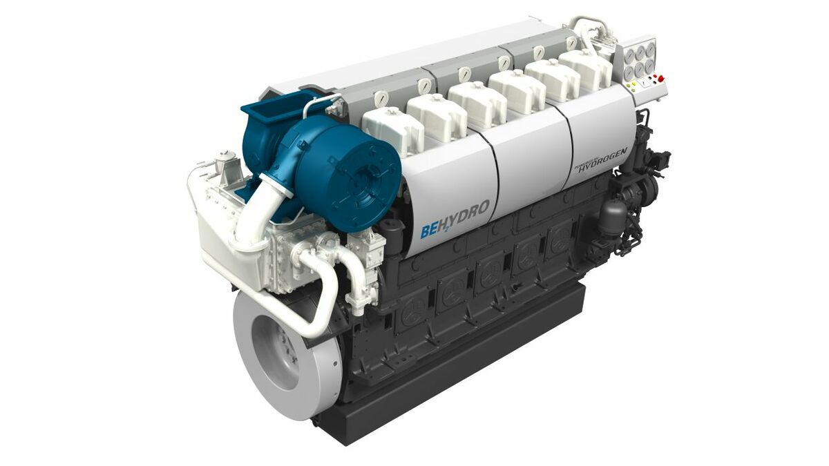 Tug project leads the way for 1 MW+ hydrogen-burning engines