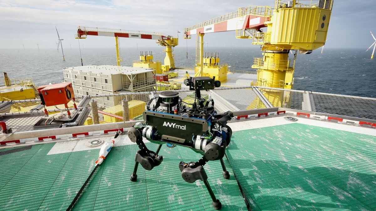 Offshore industry tunes in to benefits of robotics research