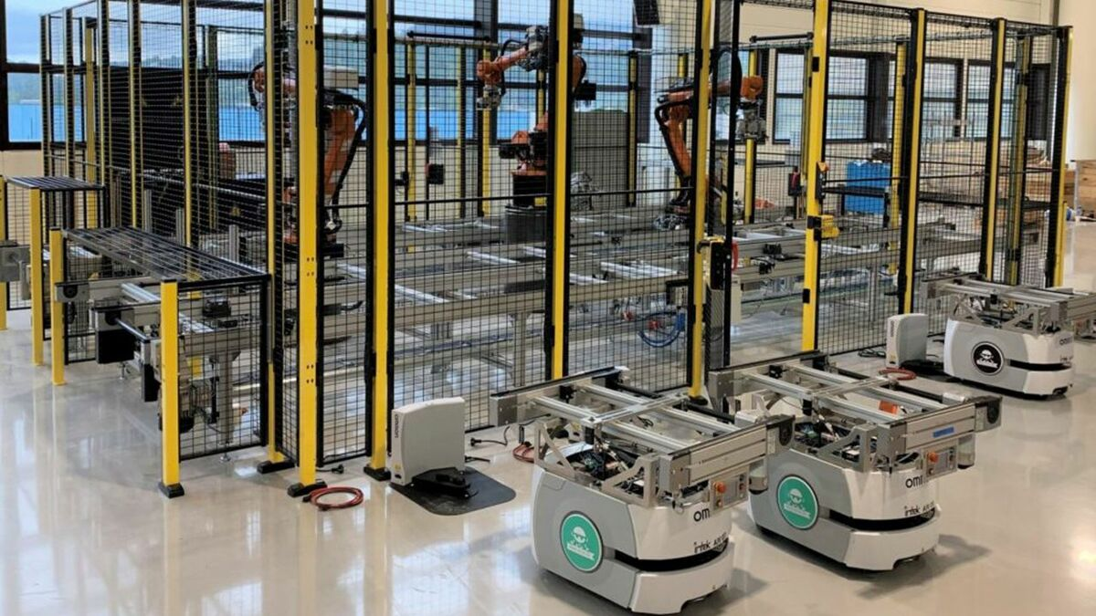 Corvus Energy has opened a digitalised production line with nine robotic stations and a capacity of up to 400 MWh in battery power per year