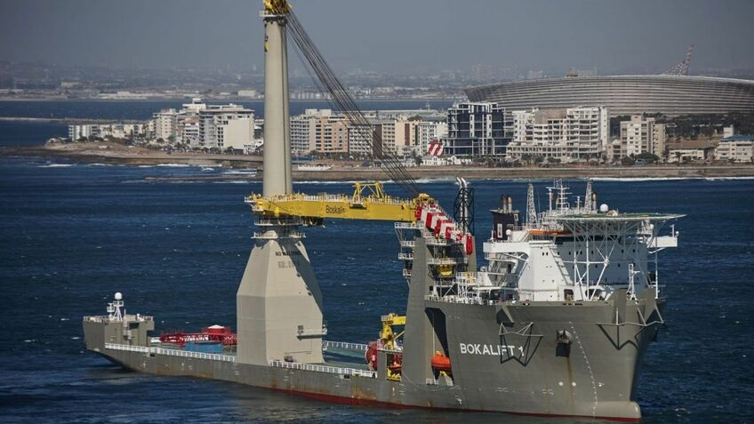 Boskalis is to convert another ship into a crane vessel like Bokalift1 and use it on CFXD OWF