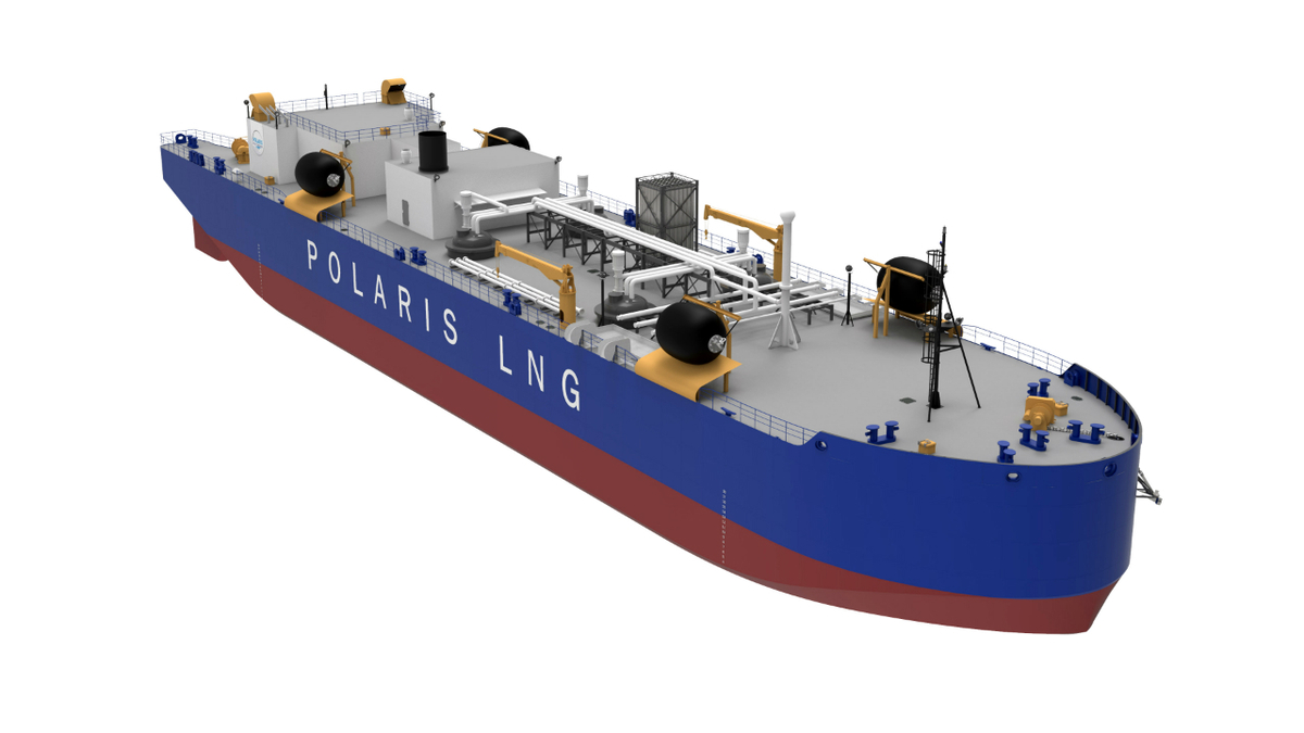 NorthStar Midstream holds options to build two additional 5,400-m3 LNG bunker barges