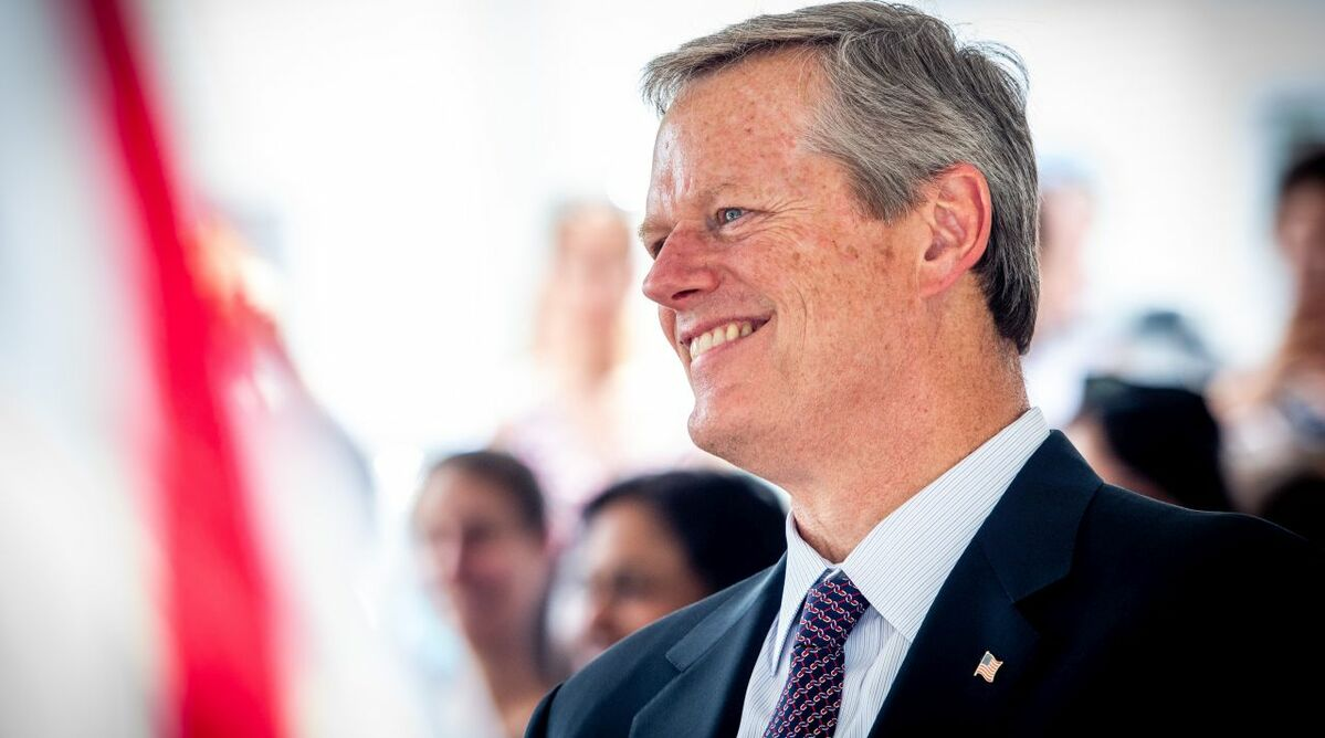 Governor Charlie Baker's administration is on course for 1.6 GW of offshore wind