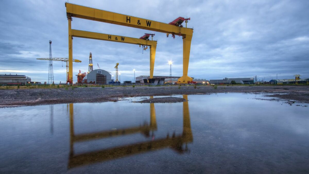 Harland & Wolff: birthplace of the sold-for-scrap Suezmax tanker Navarino (credit: Stephen Hylands)
