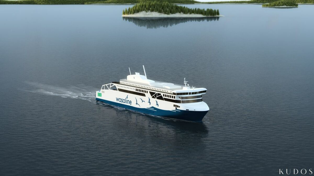 The new Wasaline ferry connecting Umeå in Sweden and Vaasa in Finland will be launched in 2021
