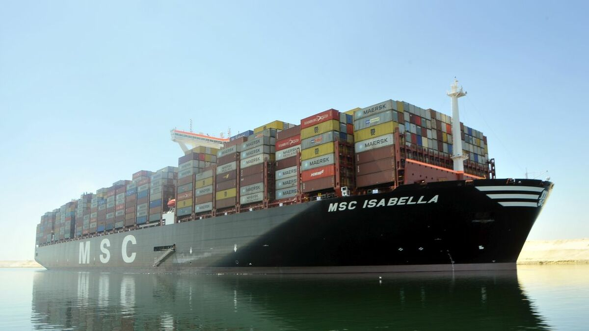 World's largest box ships: MSC Isabella has followed sister ship MSC Gülsün on to Asia-Europe trade