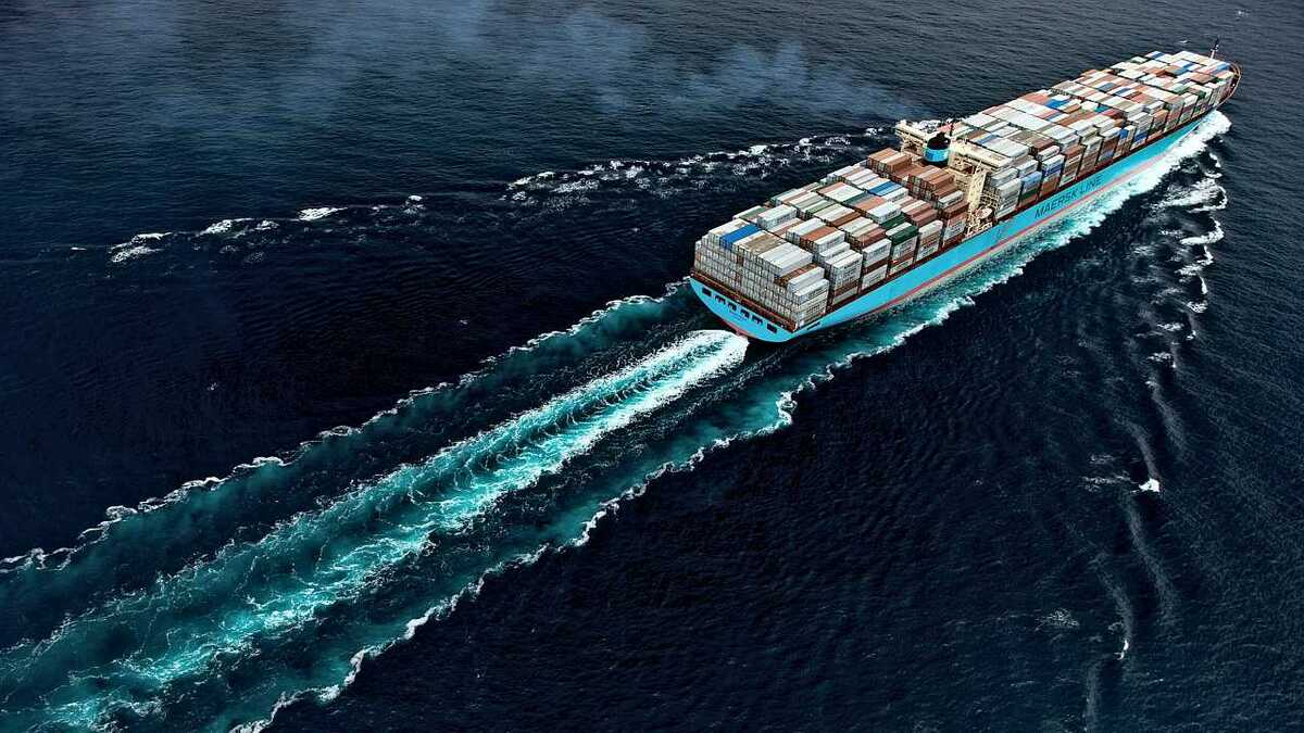 Maersk reported a US$659M net loss in Q1 this year