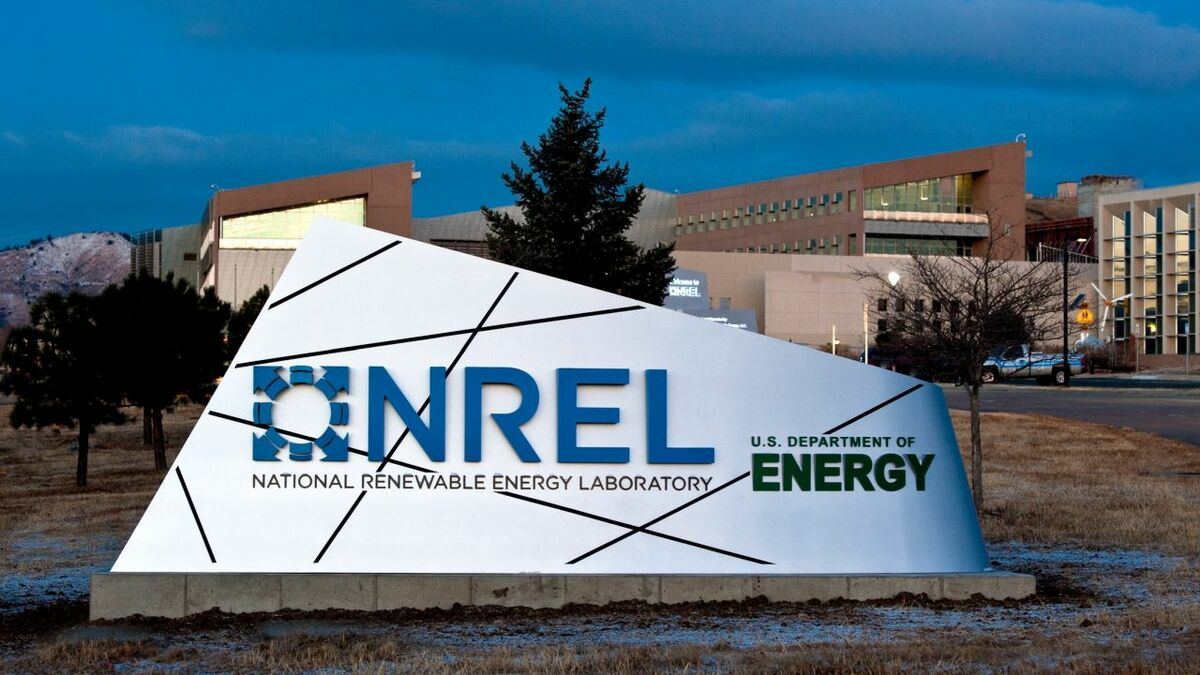 The NREL is the US Department of Energy's primary lab for renewable energy