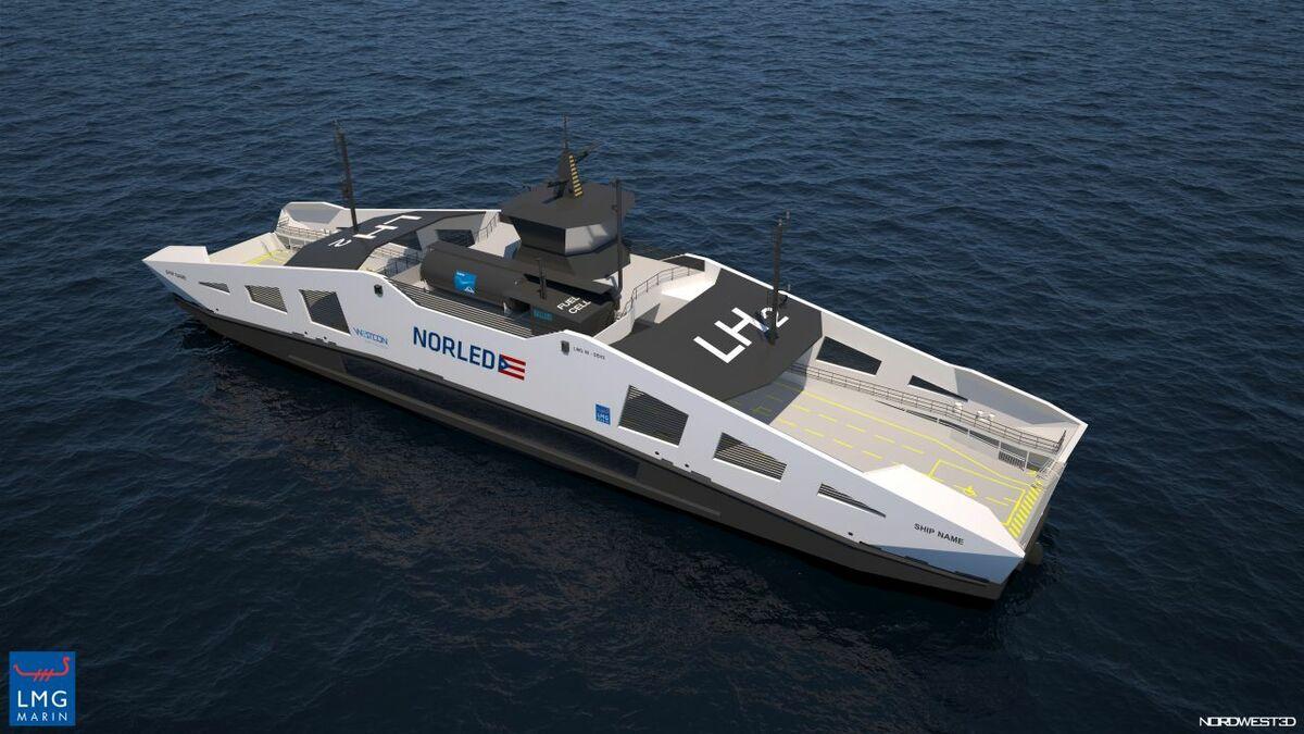 Passenger ship hydrogen bunkering to take shape
