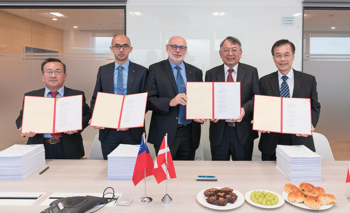 CSBC-DEME's latest deal is for the Zhong Neng windfarm offshore Taiwan