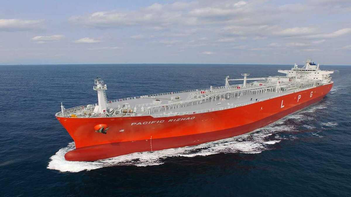 Pacific Gas is connecting its ethylene and LPG carriers to its shore base with Fleet Xpress