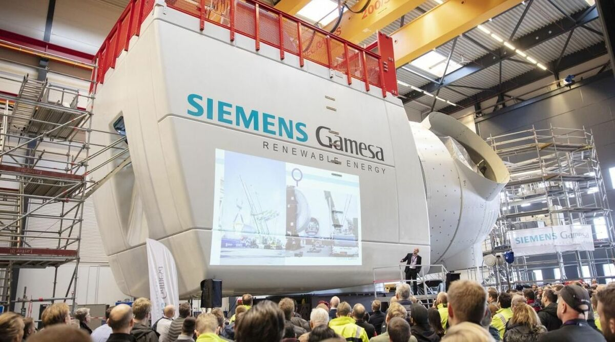 Siemens Gamesa's 10-MW nacelle goes on show