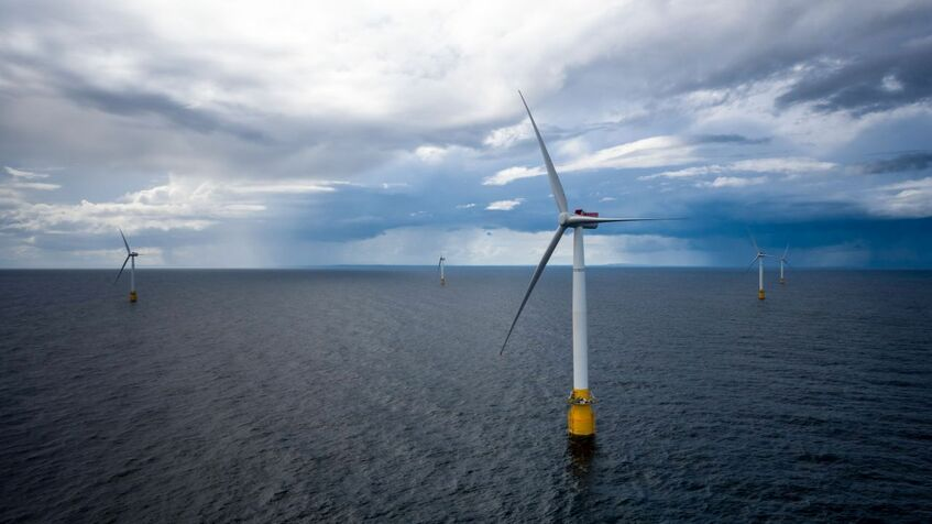 Projects like Hywind Scotland could be the precursor to floating windfarms built worldwide