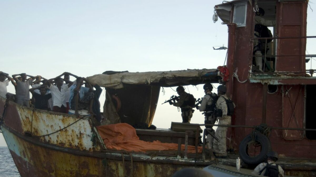 There have been more attacks on ships off coast of West Africa (credit: US DoD)