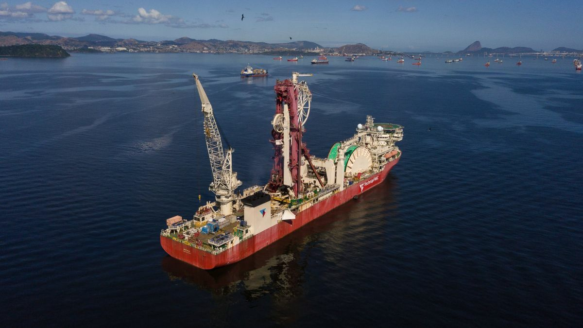 Deep Blue installed rigid and flexible pipelines in support of Equinor's Peregrino project