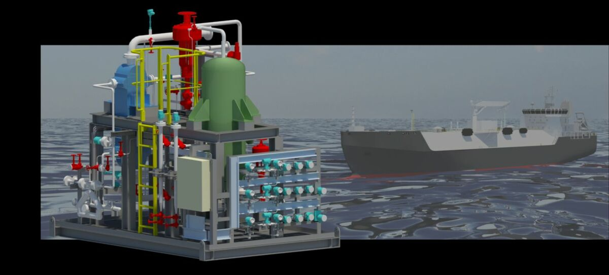 Keppel's cold-energy recovery method is particularly suited to bunker vessels and small LNG carriers