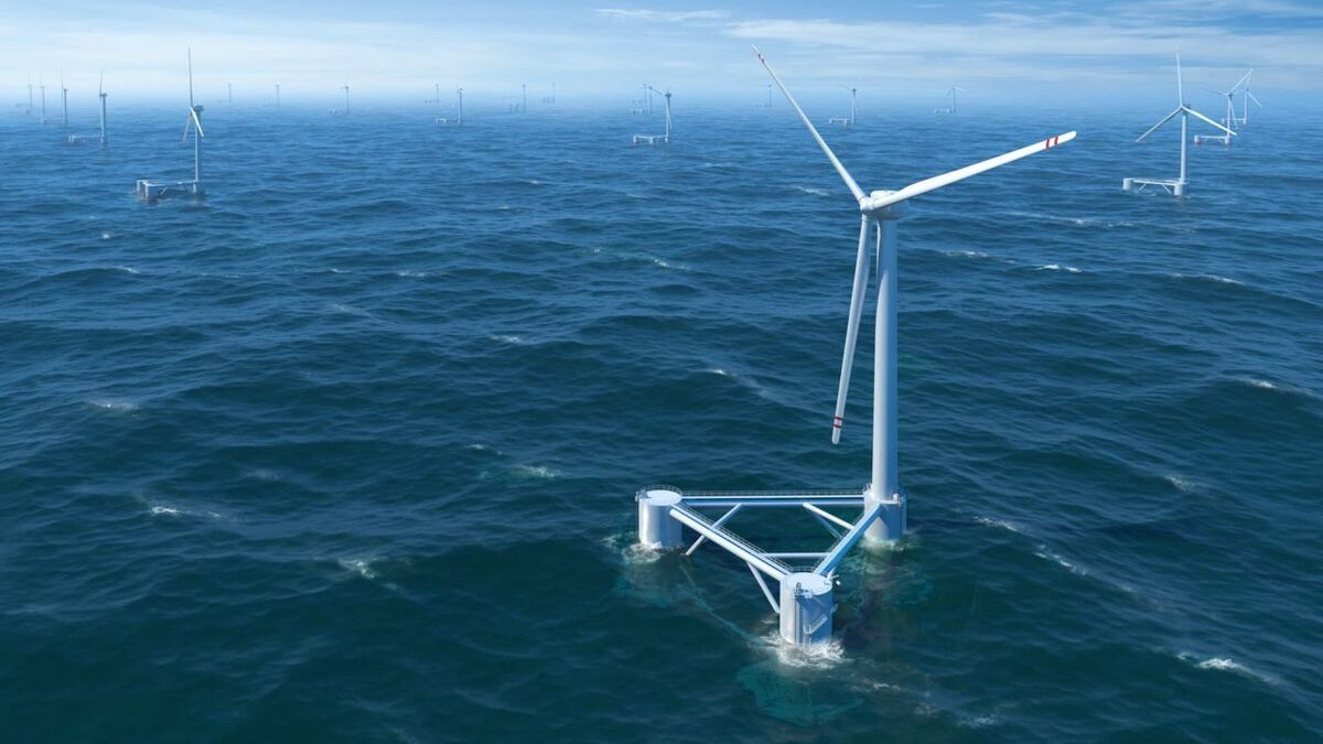 Water depths offshore Oregon mean floating wind would be essential