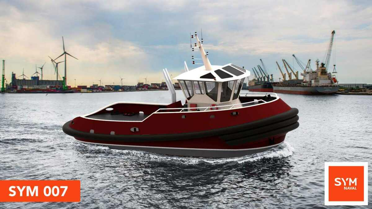 SYM Naval will build two tugs for Boluda Towage Latam to a SYM 007 design