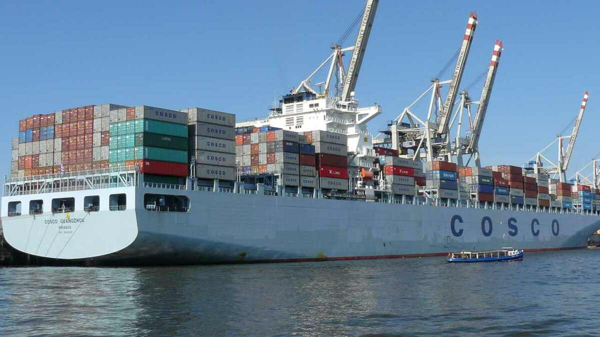 Cosco Shipping will expand the container terminals in Piraeus, Greece after securing EIB finance