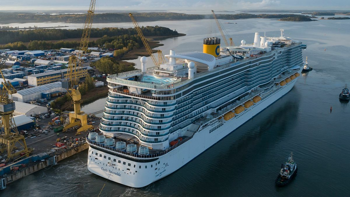 Costa Smeralda will set sail in March 2021 (Image: Costa Cruises)