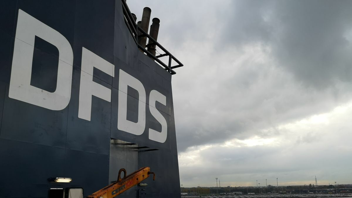 A DFDS ropax is part of the Green Ship of the Future retrofit project to identify optimisation potential