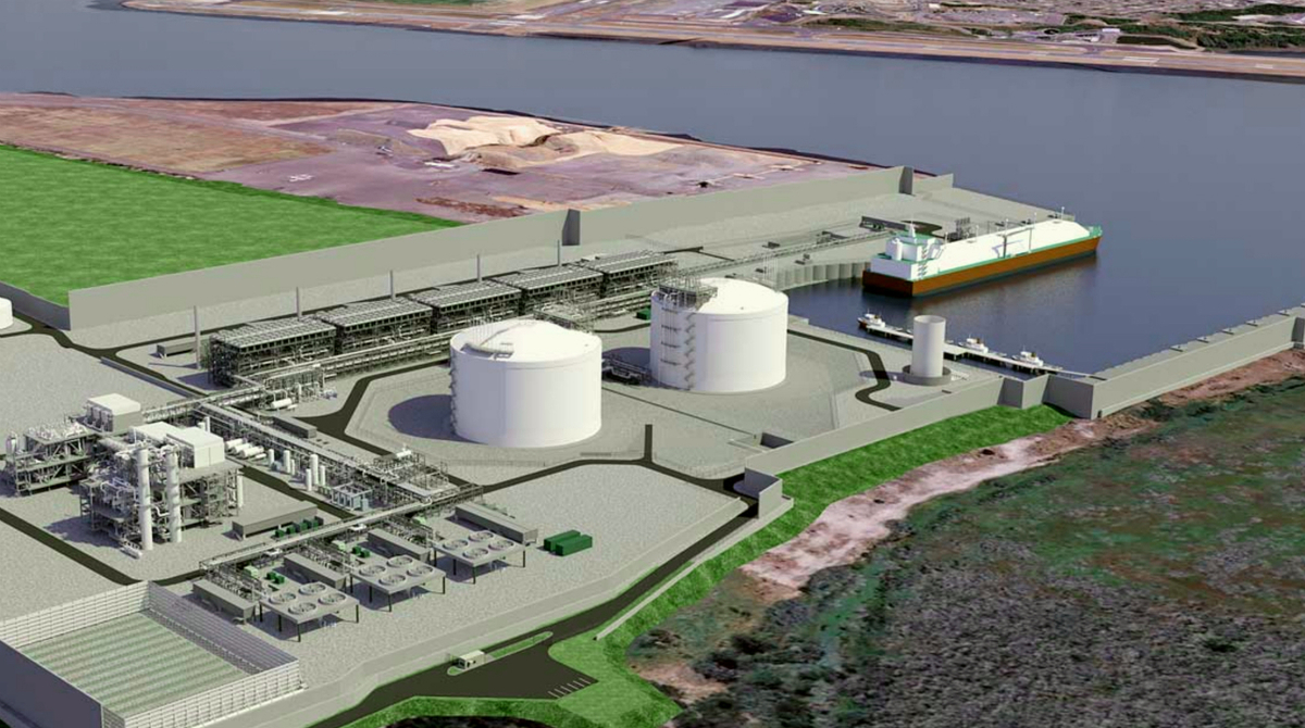Jordan Cove LNG will have five trains, with a total capacity of 7.8 mta