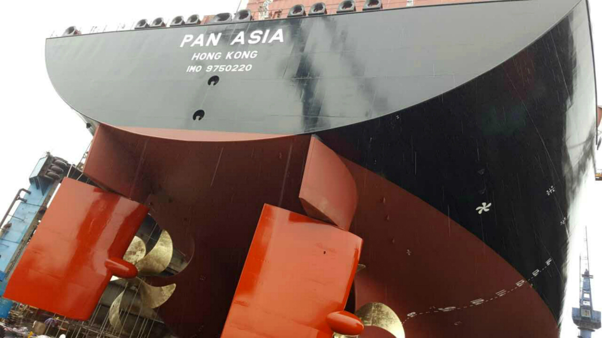 GTT systems have been used in LNG carriers built in China, but not in onshore tanks