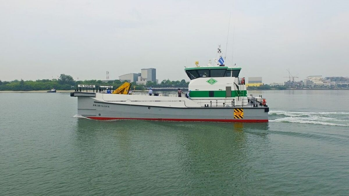 Hung Hua's latest order is for a Damen FCS 2610