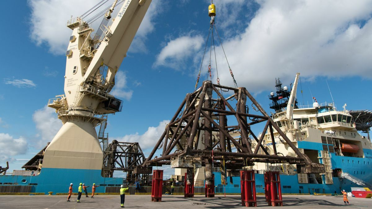 MSS has formed a 50-50 joint venture with Maersk Drilling to pursue decommissioning projects