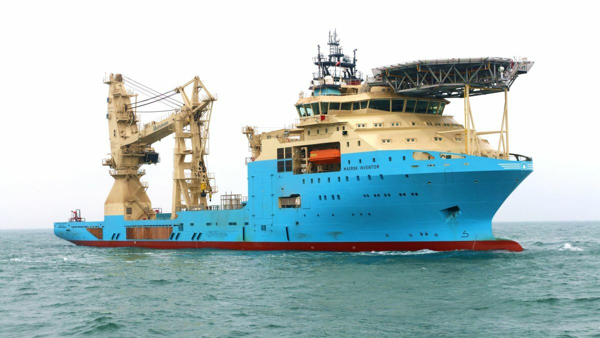 The subsea support vessel Maersk Inventor was one of 10 newbuilds added by MSS since 2017